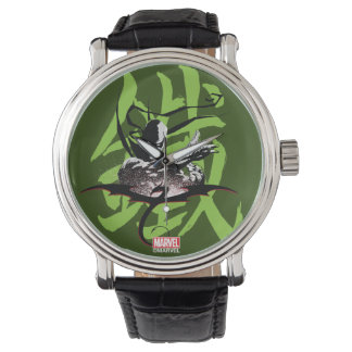 Iron Fist Chinese Name Graphic Watch
