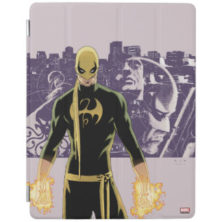 Iron Fist City Silhouette iPad Cover