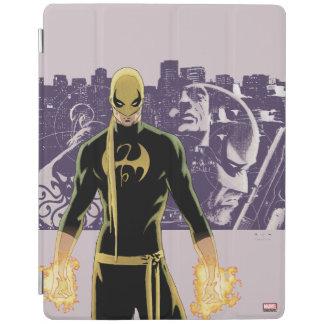 Iron Fist City Silhouette iPad Cover