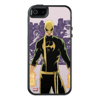 Iron Fist City Silhouette OtterBox iPhone 5/5s/SE Case