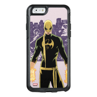 Iron Fist City Silhouette OtterBox iPhone 6/6s Case