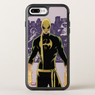 Iron Fist City Silhouette OtterBox Symmetry iPhone 8 Plus/7 Plus Case