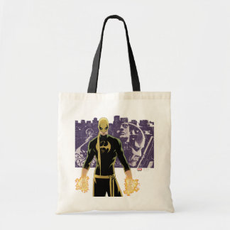 Iron Fist City Silhouette Tote Bag