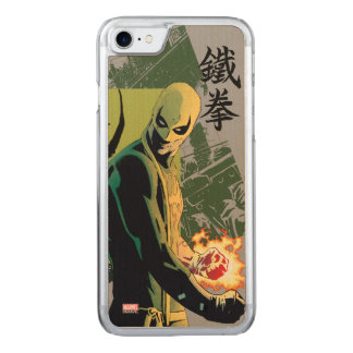 Iron Fist Comic Book Graphic Carved iPhone 8/7 Case