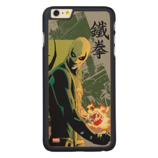 Iron Fist Comic Book Graphic Carved Maple iPhone 6 Plus Case