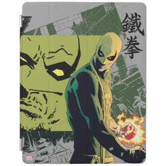 Iron Fist Comic Book Graphic iPad Cover