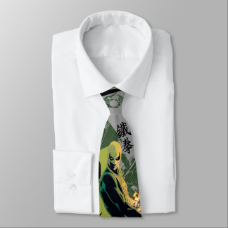 Iron Fist Comic Book Graphic Tie
