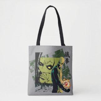 Iron Fist Comic Book Graphic Tote Bag