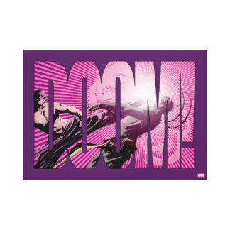 Iron Fist Doom Canvas Print