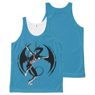 Iron Fist Dragon Landing All-Over Print Singlet