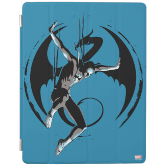 Iron Fist Dragon Landing iPad Cover