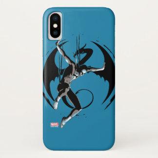 Iron Fist Dragon Landing iPhone X Case