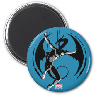 Iron Fist Dragon Landing Magnet