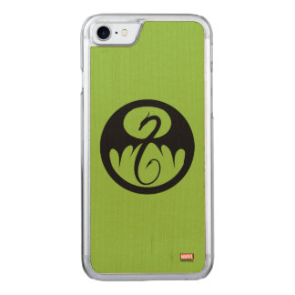 Iron Fist Logo Carved iPhone 7 Case