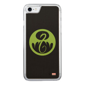 Iron Fist Logo - Green Carved iPhone 8/7 Case