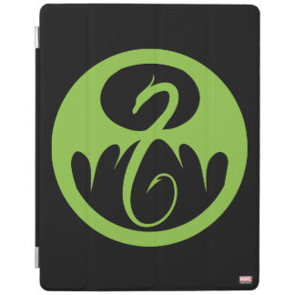 Iron Fist Logo - Green iPad Cover