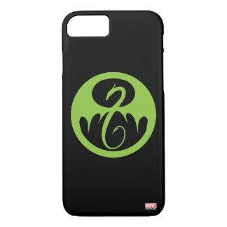 Iron Fist Logo - Green iPhone 8/7 Case