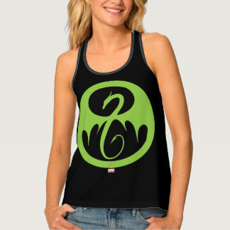 Iron Fist Logo - Green Singlet