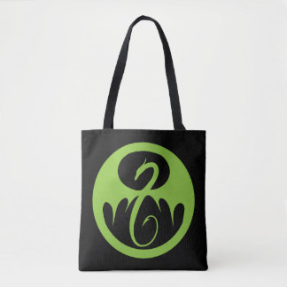 Iron Fist Logo - Green Tote Bag