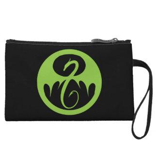 Iron Fist Logo - Green Wristlet