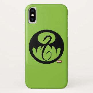 Iron Fist Logo iPhone X Case