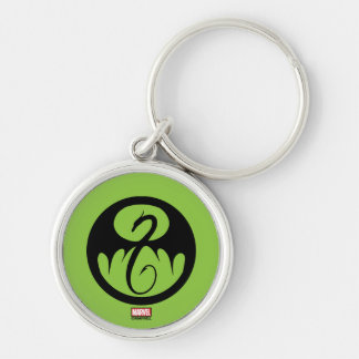 Iron Fist Logo Key Ring