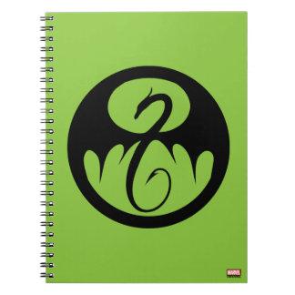 Iron Fist Logo Notebook