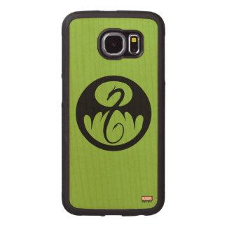 Iron Fist Logo Wood Phone Case