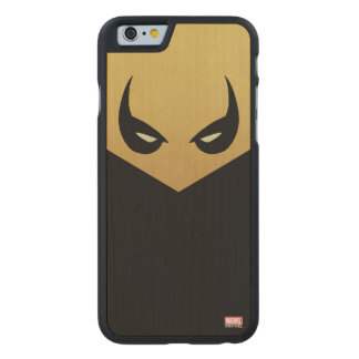 Iron Fist Mask Carved Maple iPhone 6 Case