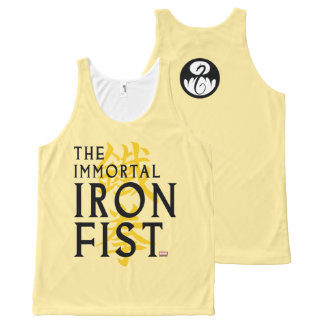 Iron Fist Name Graphic All-Over Print Singlet