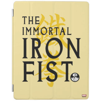 Iron Fist Name Graphic iPad Cover