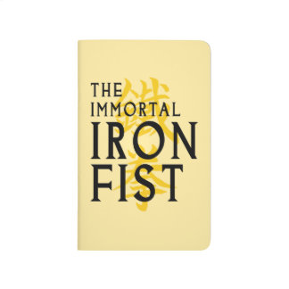 Iron Fist Name Graphic Journal