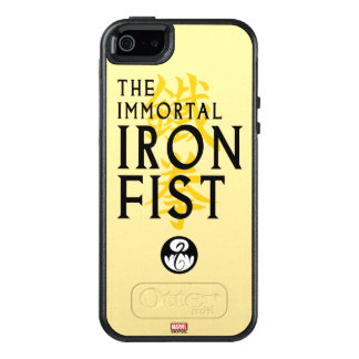 Iron Fist Name Graphic OtterBox iPhone 5/5s/SE Case
