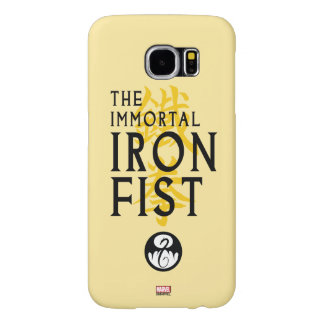 Iron Fist Name Graphic Samsung Galaxy S6 Cases