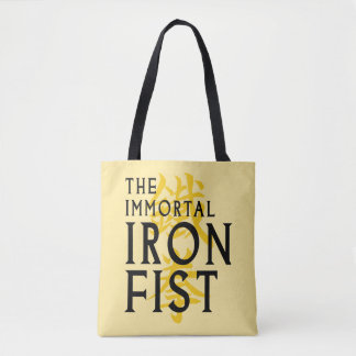 Iron Fist Name Graphic Tote Bag