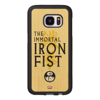 Iron Fist Name Graphic Wood Samsung Galaxy S7 Case
