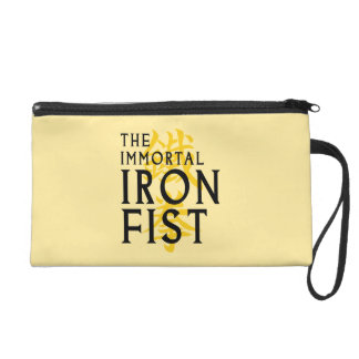 Iron Fist Name Graphic Wristlet