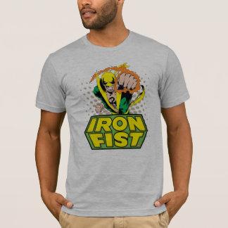 Iron Fist Retro Character Art Graphic T-Shirt