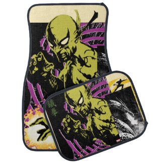 Iron Fist the Living Weapon Car Mat