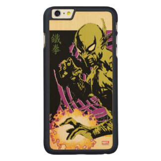 Iron Fist the Living Weapon Carved Maple iPhone 6 Plus Case