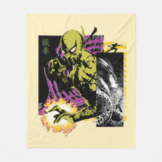 Iron Fist the Living Weapon Fleece Blanket