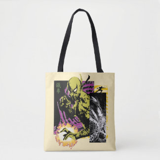 Iron Fist the Living Weapon Tote Bag