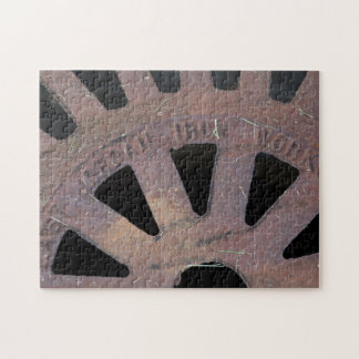 Iron Grate Jigsaw Puzzle