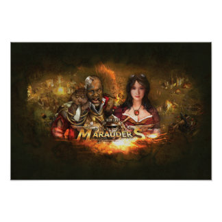 Iron Grip Marauders Poster