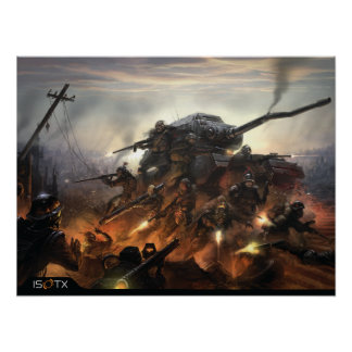 Iron Grip Warlord Posters