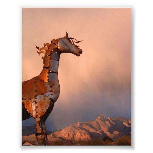"""Iron Horse"" #1 of a Series. Photo Art"