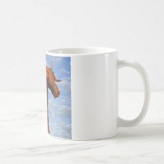 """""""Iron Horse"""" Basic White Mug"""