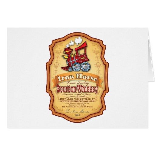 Iron Horse Bourbon Card