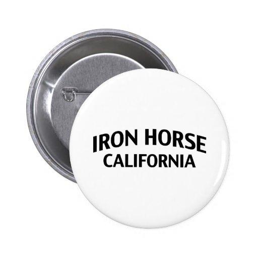 Iron Horse California Button