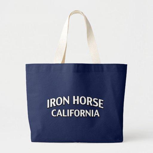 Iron Horse California Tote Bags